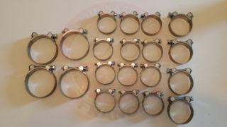 Kit colliers de suralimentation