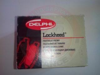 Plaquettes de frein arrière Delphi