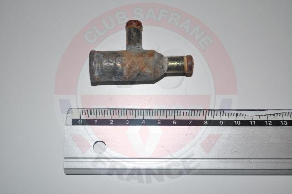 Raccord circuit eau safrane biturbo 3