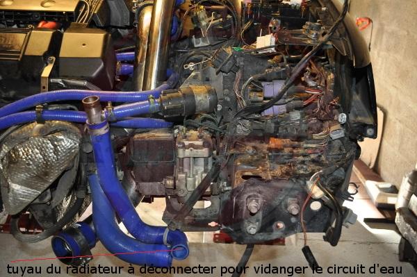 Reportage changement turbos sur safrane biturbo 8