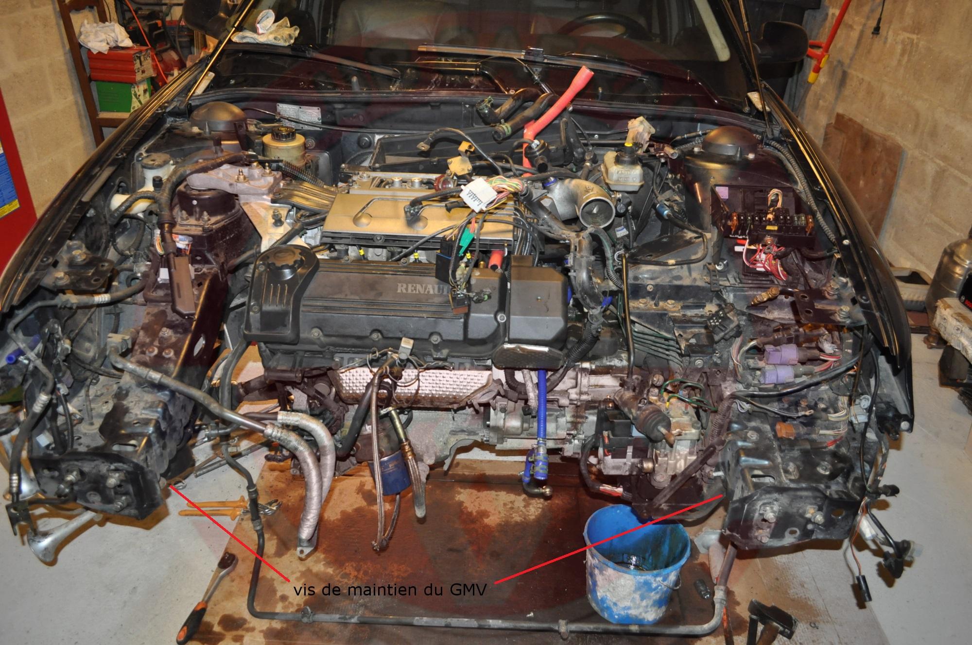 Reportage changement turbos sur safrane biturbo 9